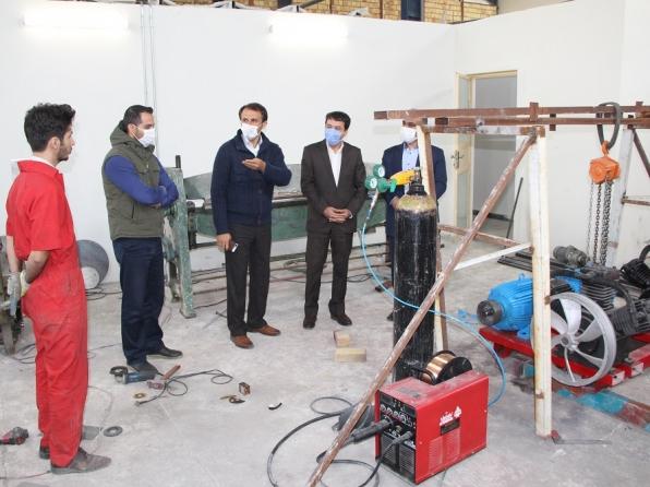 بازدید مدیر شعب بانک تجارت آذربایجان غربی از پارک علم و فناوری